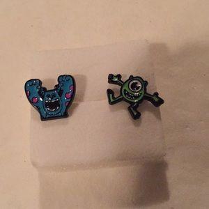 Jewelry - Brand new monsters inc pierced ears earrings